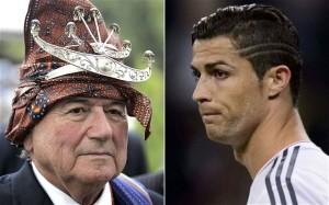 Blatter vs Ronaldo