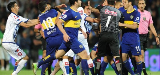 pelea godoy cruz boca juniors